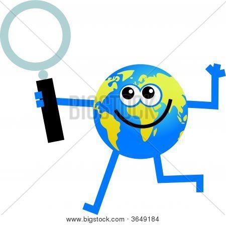 Magnify Globe