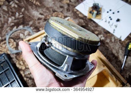 Parsing The Speaker. Parsing The Speaker. Subwoofer 15gdn Revision Of The Speakers. Column Speaker 1