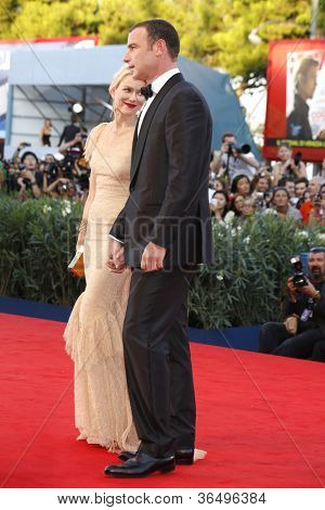 VENICE - AUG 28: Naomi Watts, Liev Schreiber at the 69th International Venice Film Festival for 'The Reluctant Fundamentalist' on August 28, 2012 in Venice, Italy