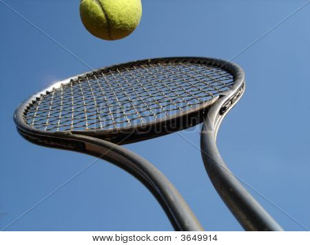 Tennis Overhead Return