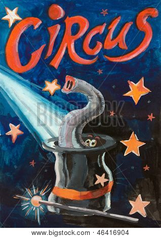 Circus Funny Poster