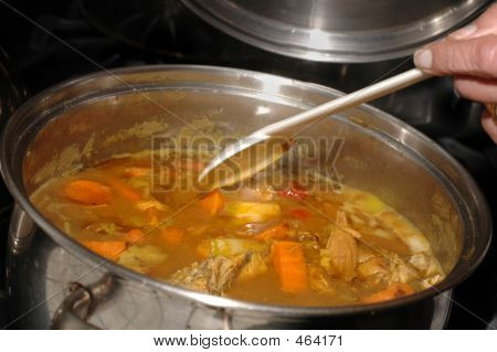 Chicken Curry Stew