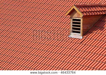 Garret Window On Roof