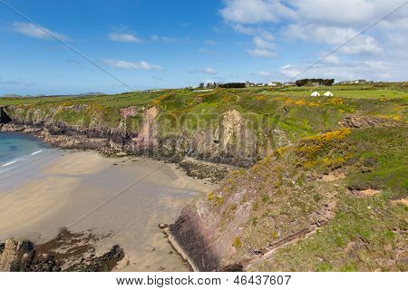 Caerfai Pembrokeshire West Wales UK