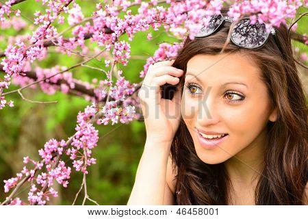 Pretty Girl in Spring