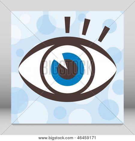 Striking eye design.