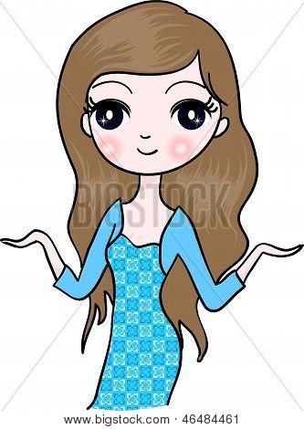Longhair girl