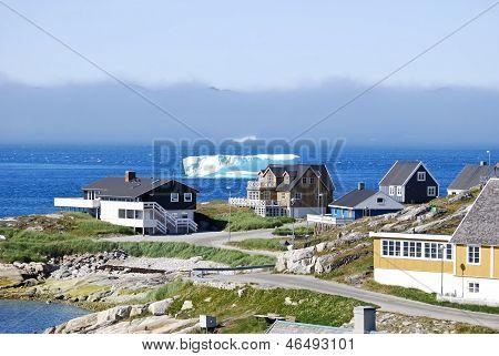 Nuuk Harbor in Summer