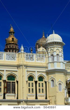 schöne und historische Mysore Palast Gebäude iv