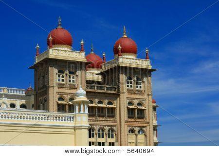 historische Mysore Palastgebäude ich