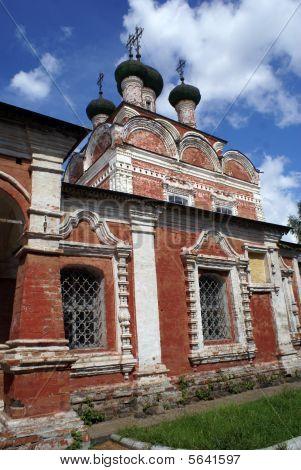 Red Brick Church In Ostashkov