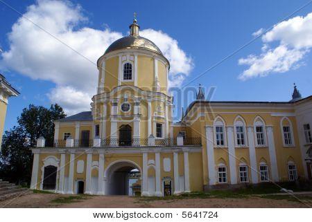 Inner Yard Of Monastery