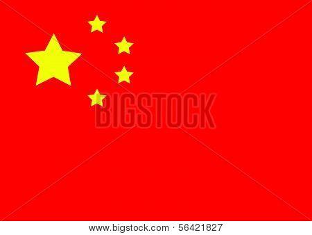 China flag themes idea