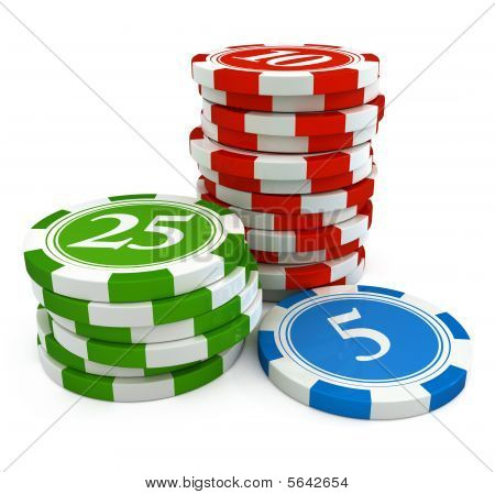 Chips From Casino Game