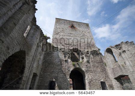 Church Ruins Sweden
