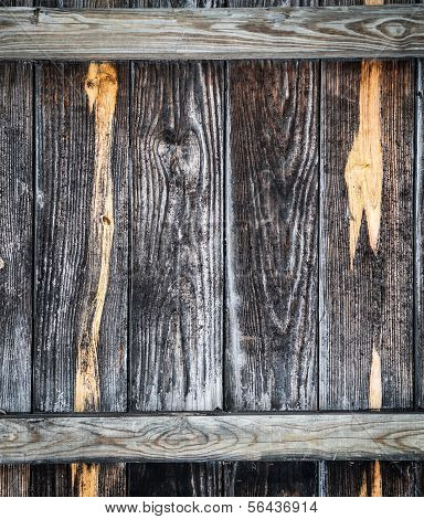 Old Wooden Fence, Detail Background