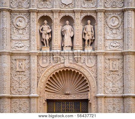 Spanish Colonial Architecture at Balboa Park, San Diego California USA