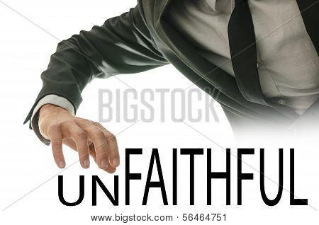 Unfaithful Or Faithful - A Man Makes A Choice