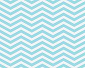 Teal and White Zigzag Textured Fabric Background that is seamless and repeats poster