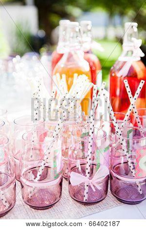 Decorative Party Glasses