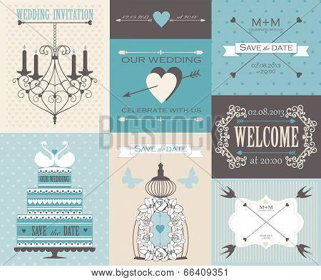 intage wedding cards.
