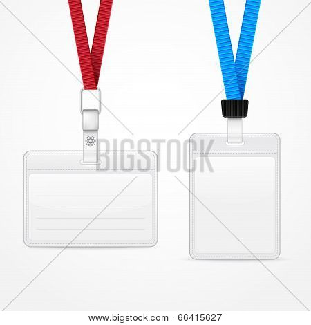 Lanyard with Tag Badge Holder.