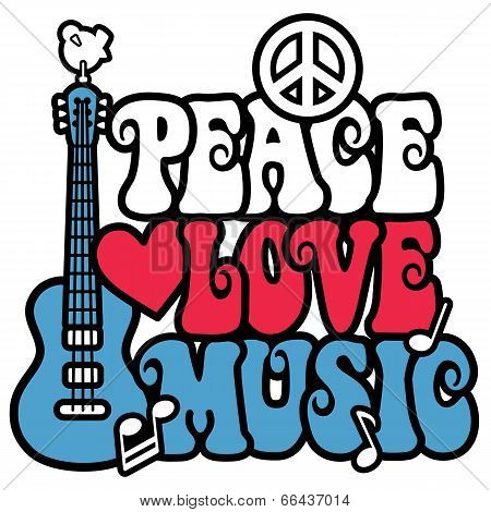 Patriotic Peace Love Music