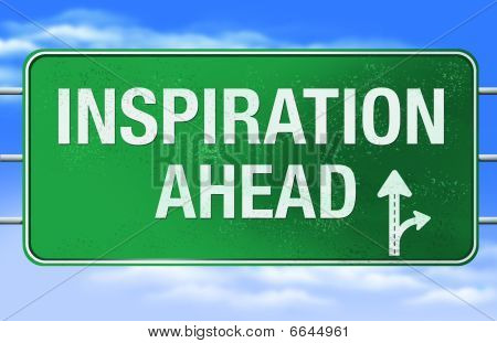 Inspiration Road Sign