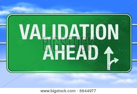 Validation Road Sign