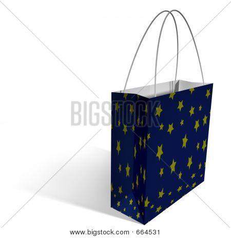 Shopping Bag - Stars