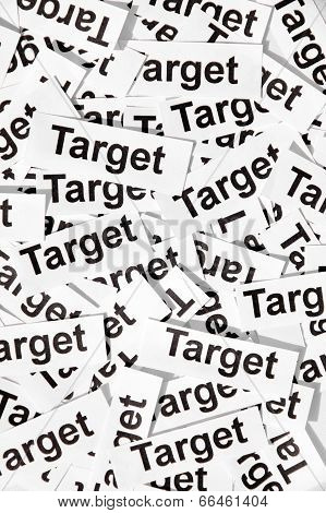 concept image of target sign background texture poster