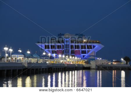 Pier In St. Petersburg, Florida Usa