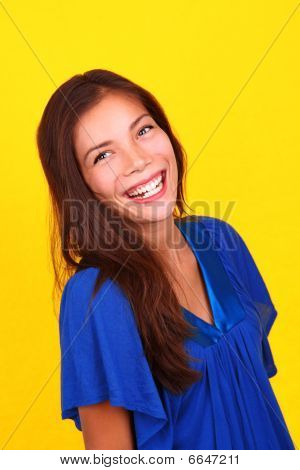 Laughing Ethnic Woman