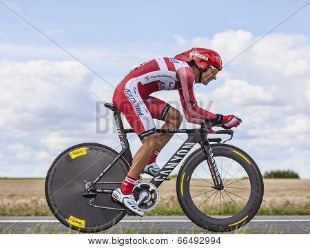 The Cyclist Giampaolo Caruso