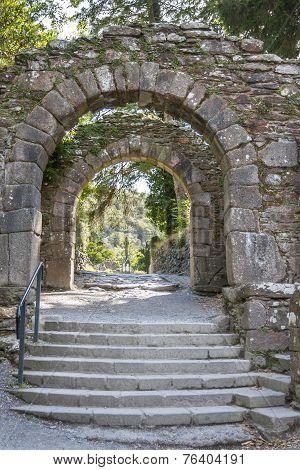Entrance To Glendalough