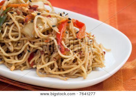 Teriyaki Sesame Noodles
