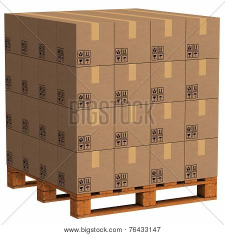 Packet Pallet