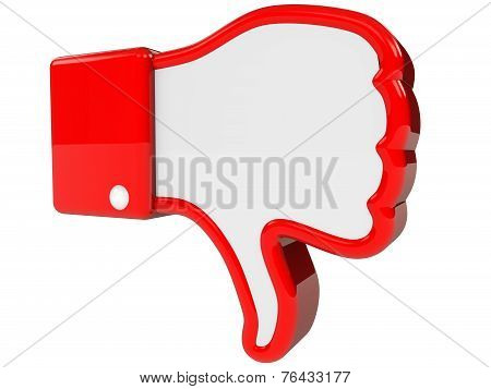 Symbol Of Negative Feedback