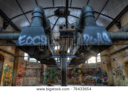 Abandoned Kitchen In Beelitz