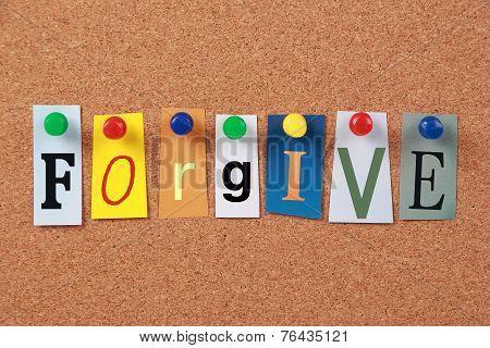 Forgive Single Word