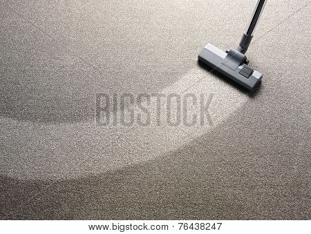 Vacuum Cleaner on a Carpet