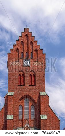 Hassleholm Kyrka Clock Tower