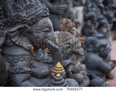 A statue of ganesha in bali, indonesia