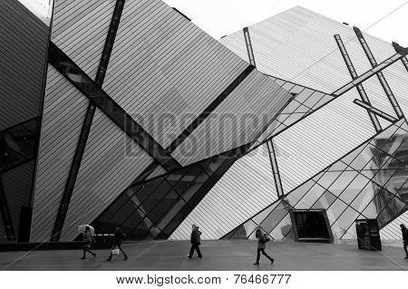 Royal Ontario Museum Black And White