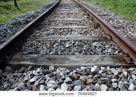 Old, Deserted Railroad