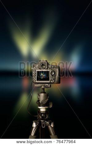 Digital Camera The Night View