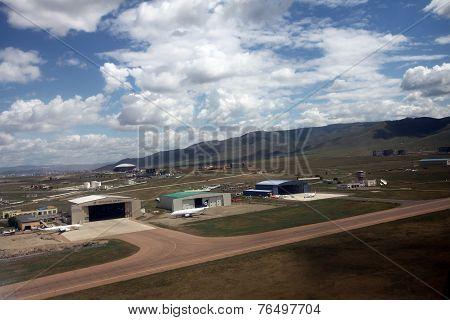 Chingis Kahn International Airport in Mongolia's capital, Ulaanbaatar