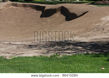 Golf Course Sand Trap