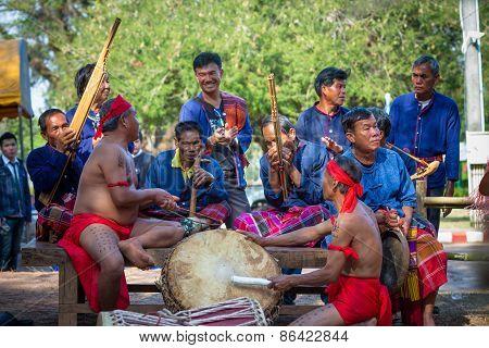 So Ethnic tribal lifestyle of Thai Thailand local