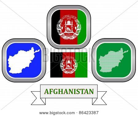 Map Of Afghanistan